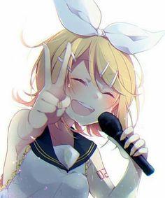 Kagamine Len and Rin- Ah, it's a wonderful cat life ...  |Rin Kagamine Anime