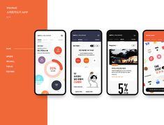 이미지 Portfolio Layout, Portfolio Design, Case Presentation, App Promotion, Tablet Ui, Design Guidelines, Mobile Ui Design, App Ui Design, Design Reference