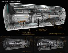 ArtStation - -Subnautica: Cyclops Engine Chamber- , Pat Presley