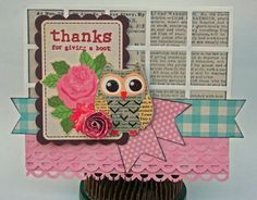 My Little Shoebox Thanks For Giving A Hoot