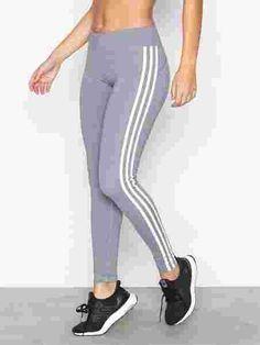 Bt Rr Htr 3Stripe L - Adidas Sport Performance - Svart/Grå - Tights & Bukser - Sportsklær - Kvinne - Nelly.com Adidas Sport, Tights, Pajamas, Pajama Pants, Sports, Fashion, Navy Tights, Moda, La Mode