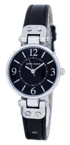 Features: Stainless Steel Case Leather Strap Quartz Movement Mineral Crystal Black Dial Analog Display Pull/Push Crown Buckle Clasp 30M Water Resistance Approximate Case Diameter: 26mm Approximate Case Thickness: 9mm Crown And Buckle, Anne Klein Watch, Authentic Watches, Online Watch Store, Stainless Steel Case, Quartz, Crystals, Stuff To Buy, Accessories