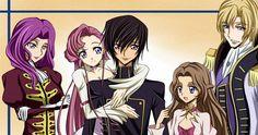 /Code Geass -The Royal Family: Cornelia, Euphemia, Lelouch, Nunally, and Schneizel