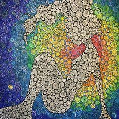#coloring #coloriage #coloringbook #johannabasford #lostocean #mermaid #prismacolorpencils #塗り絵 #大人の塗り絵 #ジョハンナバスフォード #海の楽園  Tool : Prismacolor Pencils, #posca (marker), pastel, gel pens.  Finished!  前回とあまり変わり映えしない絵ですがこれで完成とします。人魚の周りは虹色ではなくてもっとダークな感じにすれば良かったかなとも思いますが、全体の雰囲気と自分が表現したいことを考えて形にする練習になったので良しとします でもちまちま塗るのは正直疲れました〜