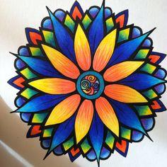 Flower done in ink and prismacolor pencils by Jenn Cavender-Wilson https://m.facebook.com/jennwilsonsart