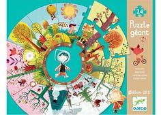 gigantische puzzel seizoenen DJECO   kinderen-shop Kleine Zebra