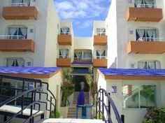 Playa Maya in Playa del Carmen, Mexico. Awesome small hotel right on the beach.