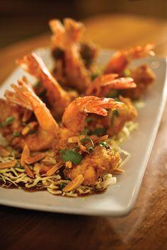 Recipe: Almond Shrimp: Zea