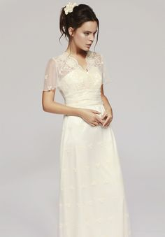 Vestido de novia de Otaduy : modelo Charlotte #vestidosdenovia #weddingdress #tendenciasdebodas