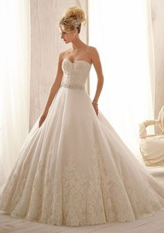 Mori Lee - 2621 - All Dressed Up, Bridal Gown - Morilee - Chattanooga TN's All Dressed Up Bridal Shop / Bridal Boutique offers Wedding Gowns, Prom Dresses & Tuxedo Rentals