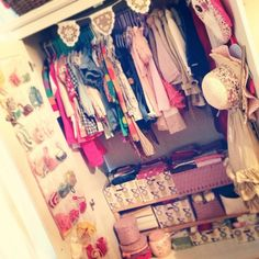 Make your closet very practical - 20 DIY Clothes Organization Ideas. Lord knows I need these tips!!
