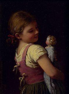 #60, Gretchen's Favourite (1881) - Johann Georg Meyer von Bremen (1813–1886, German)