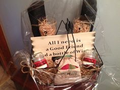 Hey, I found this really awesome Etsy listing at http://www.etsy.com/listing/163744368/wine-ready-gift-basket