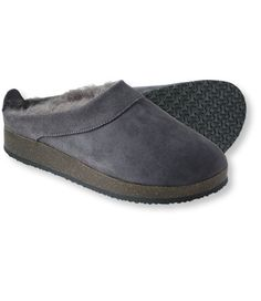 Women's Wicked Good Clogs: Slippers | Free Shipping at L.L.Bean, Size 9, Color choice: 1st - Graphite, 2nd - chocolate brown, 3rd brown
