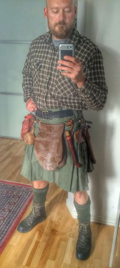 Got me a kilt for warmer days during bushcraft activities