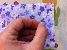 Equipe das vaquinhas: tecido plastificado Tutorial
