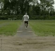 'Long' jump fail