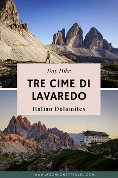 Your guide to hiking Tre Cime di Lavaredo (Drei Zinnen). Find out how to get to Tre Cime di Lavaredo, when to hike, and which direction to hike in. Beautiful Park, Best Hikes, Day Hike, Hiking Trails, All Over The World, Italy, Explore, Mountains, Travel