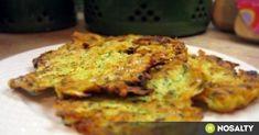 Cukkinis tócsni recept képpel. Hozzávalók és az elkészítés részletes leírása. A cukkinis tócsni elkészítési ideje: 30 perc Green Eggs And Ham, Lasagna, Quiche, Tapas, Cauliflower, Zucchini, Nom Nom, Cake Recipes, Vegetarian Recipes