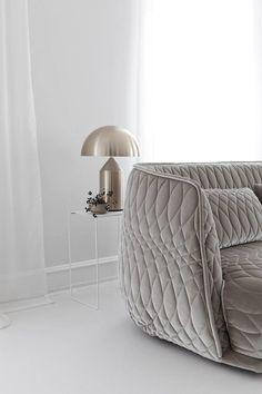 velvet satin sofa | studio oink | DustJacket
