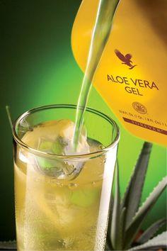 Suco puro de Aloe Vera Gel