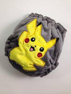 I Choose You  #clothdiaper #wahm #madeincanada #pokemon #nerd #videogames