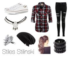 """Stiles Stilinski"" by quicksilvxr ❤ liked on Polyvore"
