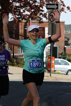Feelin' good. Marathon Photo, Atlantic Canada, Running, Blue, Keep Running, Why I Run