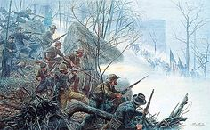 Battle of Chattanooga~ Mort Kunstler