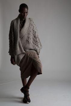 Vintage Issey Miyake Cocoon Sweater Designer Vintage Clothing Minimal Fashion