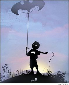 Andy Fairhurst Makes Children Champions in Superheroic Silhouettes [Art] - ComicsAlliance   Comic book culture, news, humor, commentary, and reviews