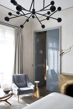 An elegant armchair. Jean-Louis Deniot | Interiors | Interior design #homedecor #designideas