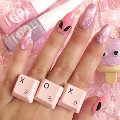 Loving this whole concept, especially the alien nails