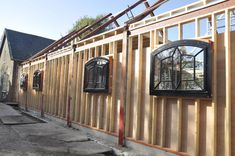 AGA geïsoleerde stalramen Industrial Design, Sweet Home, New Homes, Barn, Loft, Farmhouse, Construction, Garage, Nice
