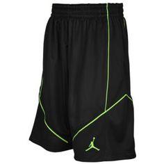 Jordan Aero Fly Mania Short - Men's - Gorge Green/Black/Electric Green