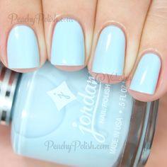 Jordana Cosmetics Baby Blue | Playful Pastel Collection | Peachy Polish