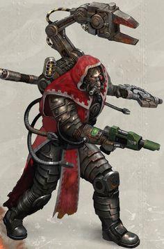 Only War RPG Techpriest Enginseer.