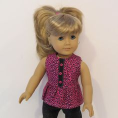 American Girl Doll Clothes  Capri  Length by AmericAnnMade on Etsy, $15.00