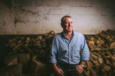 Actor John Nettles pictured at his home in Devon