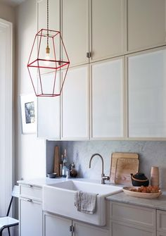 DIY arty geometric lampshade. Two lampshades wrapped in ribbon. Bra-ZILLIANT