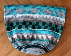 Crochetalong Tasche Muster 3 Ende schoenstricken.de