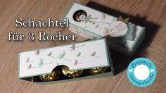 Schachtel für 3 Ferrero Rocher