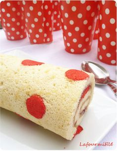 Polda dot #roulé à la #fraise