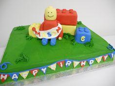 Lego Birthday Cake #birthdaycake