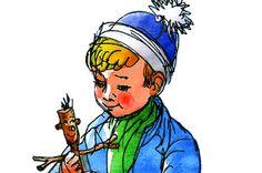 Anne Cath. Vestlys Lillebror og Knerten Jo Vestly illustrasjoner