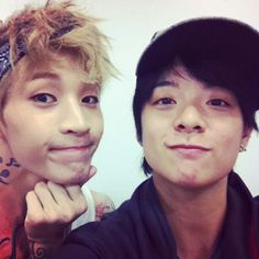 Henry & Amber<3 These are the only kpop stars that I really ship together ^^