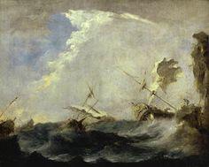 Guardi, Francesco - Tempête en mer - Musée des Beaux-ARts de Montréal