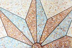 Four simple steps to take care of your terrazzo floor : Evewoman - The Standard Terrazzo Flooring, Diy Flooring, House Front Wall Design, Marble Furniture, Retro Renovation, Floor Patterns, Metal Homes, Ceiling Design, Take Care Of Yourself