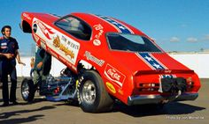 "Tom ""The Mongoose"" McEwen, Fremont Funny Car Drag Racing, Funny Cars, Hot Wheels Cars, Hot Cars, Dragster Car, Snake And Mongoose, Mountain Bikes For Sale, Nhra Drag Racing, Vintage Race Car"
