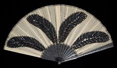 Fan Made Of Wood, Metal, Silk, Sequins, Mother-Of-Pearl And Paper - French   c.1900-1915 The Metropolitan Museum Of Art